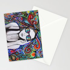 Think in Technicolor Stationery Cards