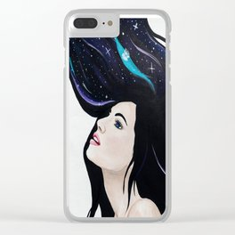 Dreaming Out Loud Clear iPhone Case