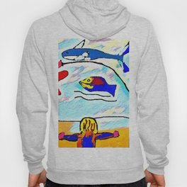 The attacked fisherman Hoody