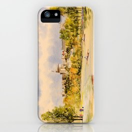 Windsor Castle And River Thames iPhone Case