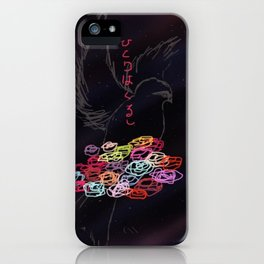 It hurts to be alone. iPhone Case