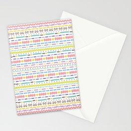 Retro Motivo Stationery Cards