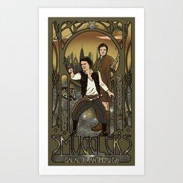 Smugglers, Inc Art Print