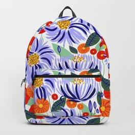 Alia #floral #illustration #botanical Backpack