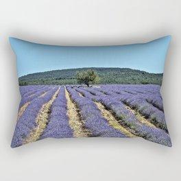 Lavender field, Provence, France Rectangular Pillow