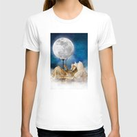 sandman T-shirts featuring Good Night Moon by Diogo Verissimo