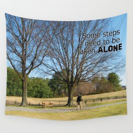 A Peaceful Walk Wall Tapestry