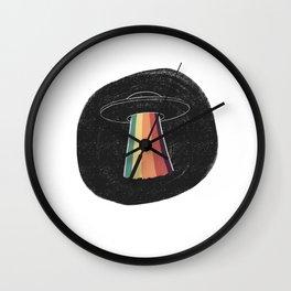 Aliens Wall Clock