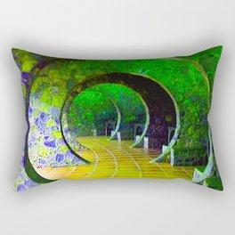 The Passage Rectangular Pillow