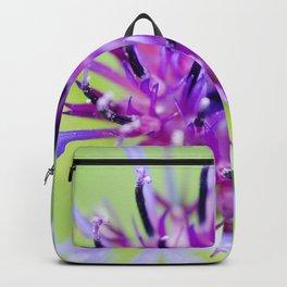 Perennial Blue Bachelor's Button Backpack