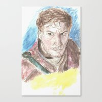 starlord Canvas Prints featuring Starlord by LK'sArts