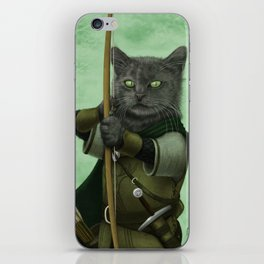 Ranger Cat iPhone Skin