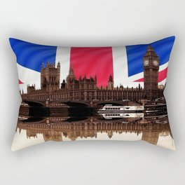 British politics Rectangular Pillow