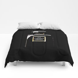 Black Parfum on black Comforters