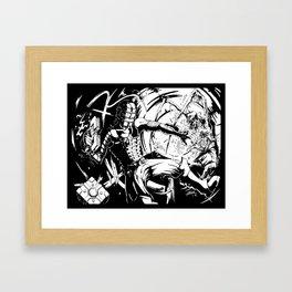 Zero Gravity Framed Art Print