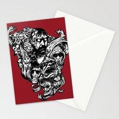 Horror Doodle Stationery Cards