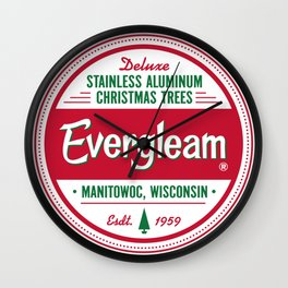 Evergleam Seal Wall Clock
