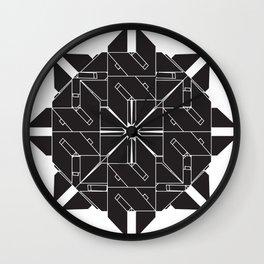 Interlock Mandala 2 Wall Clock