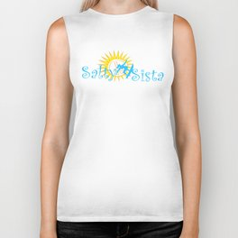 Salty Sista Surf  Biker Tank