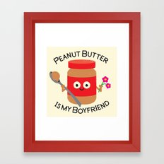 Don't Be Jelly Framed Art Print