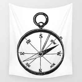 Ancient Compass Wall Tapestry