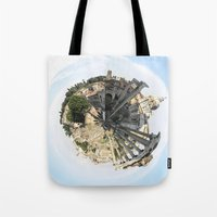 rome Tote Bags featuring ROME by fscVisuals