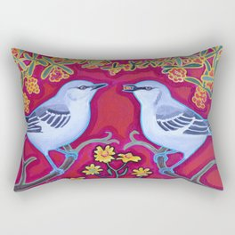 Mockers and Berries Rectangular Pillow