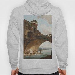 The Ponte Salario Oil painting by Hubert Robert Hoody
