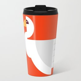 Geometric swan Travel Mug