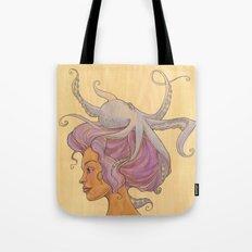 The Octopus Mermaid 4 Tote Bag