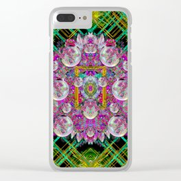 the most beautiful planet is earth on the sky Clear iPhone Case