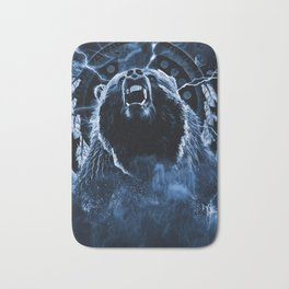 CHIEF CHARGING BEAR Bath Mat