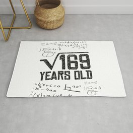 My age in square root Rug