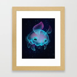 Biscuit, The Deep Sea Jelly Bun Framed Art Print