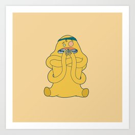 itsy bitsy cooties #70 Art Print