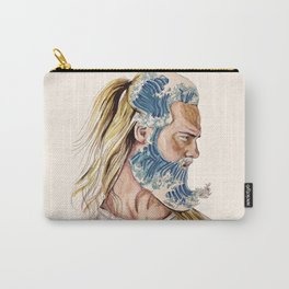 King of waves Carry-All Pouch