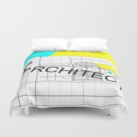 architect Duvet Covers featuring ARCHITECT-2 by Art-xigo