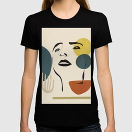 Abstract Face I T-shirt
