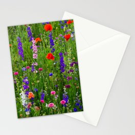 Close-up Wildflowers Stationery Cards