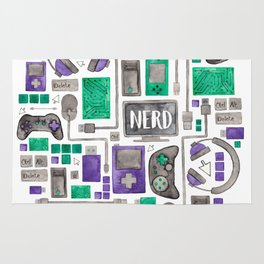 Gamer/Computer Nerd Rug