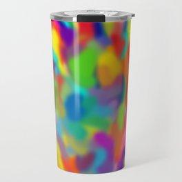 "Rainbow ""Watercolor"" Travel Mug"