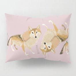 Wolf totem: Tibetan Wolf (Pack) Pillow Sham