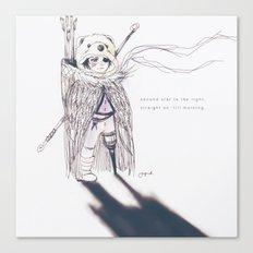 Lostboy Canvas Print