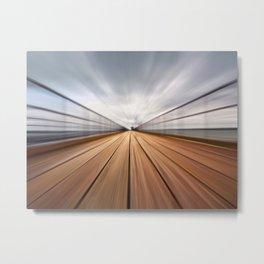Southend On Sea Pier Metal Print