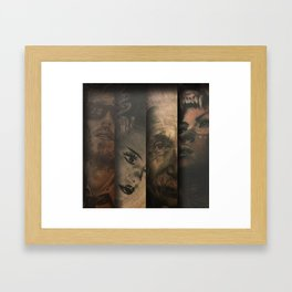 Forever Gold Framed Art Print
