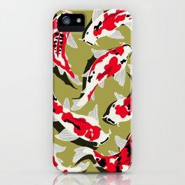 Koi Carp Zen iPhone Case