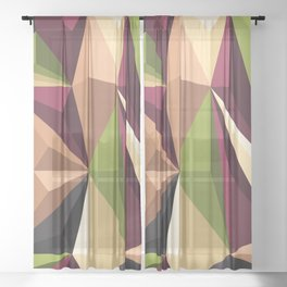 Polygon 4 Sheer Curtain
