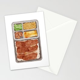 Japanese Beef Bento | 牛肉便当 Stationery Cards