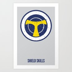 Taskmaster - Shield Skills Art Print