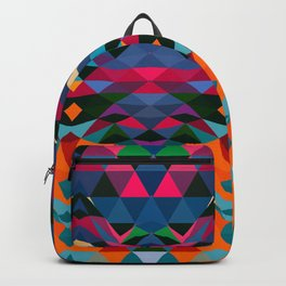 Abstract Art Triangle Pattern Digitalart Home Decor Gift Backpack